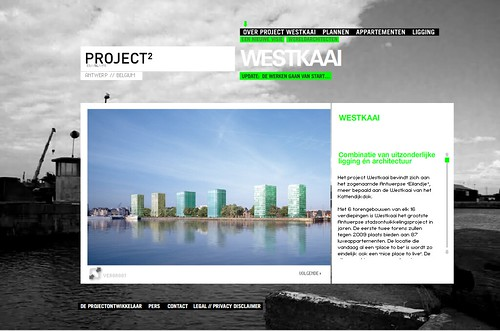 Westkaai website