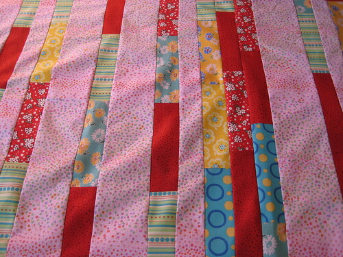 LuckyStitches - Doll Quilt WIP