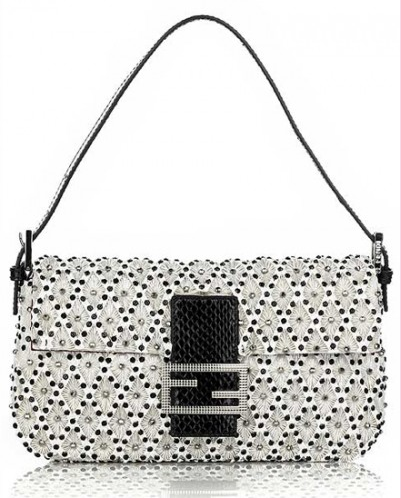 Fendi Baguette :  limited edition snake skin bag watersnake