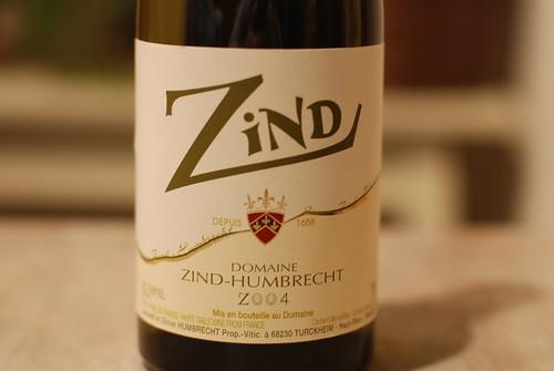 2004 Domaine Zind-Humbrecht Zind