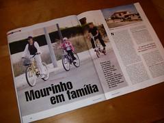 Mourinho rides a Mobiky
