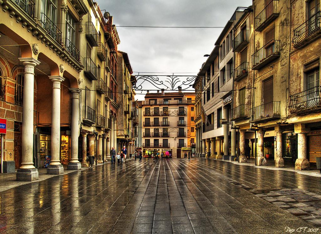 Photo d'Aragon n°7. Barbastro après la pluie