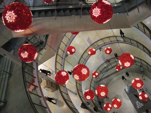 Decoration in the mall