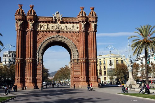 Barcelona....Arc de Triomf por Klaus Dolle - Photography (slow vacation mode).