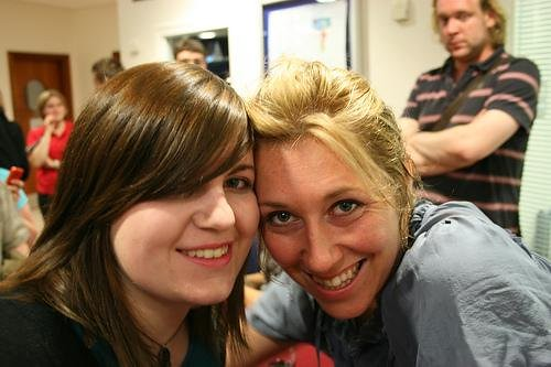 Me and Martha Wainwright