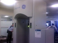 GE security scanner at DFW