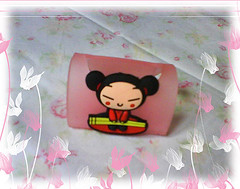 Pucca Cell Phone Holder (Sapphic Morrigu) Tags: gifts pucca cellphoneholder