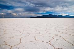 Magical Saltscape (tripowski) Tags: blue sky white mountains clouds landscape nikon cloudy bolivia flats tamron salar uyuni salardeuyuni instantfave d80 abigfave