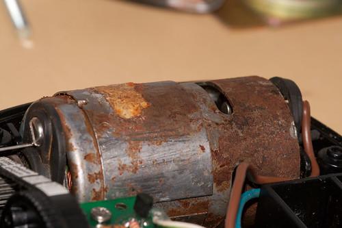 burnt hbridge simrad tp10 equinoxefr