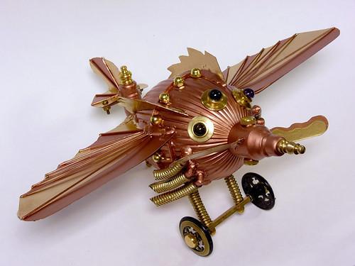 Steampunk Plane 2