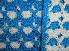 Ravelry 2 Sided Baby Afghan Pattern By Janet David