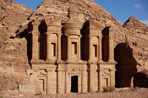 The Monastery (Deir), Petra por twiga_swala.