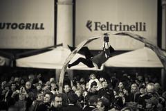 (alexis...) Tags: street carnival urban blackandwhite bw italy milan italia milano duomo carnevale bnw