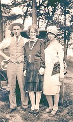 Get a load of these duds! (kevin63) Tags: antique antiquecar cigarette westvirginia sylvia noble lightner 1926 twenties boaterhat flapperclothes durantstar