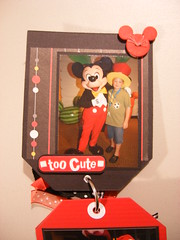 1st Page (JustScrappinHappy) Tags: scrapbooking magic disney hugs justdandy shessocrafty craftaday allthingsfun