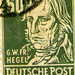 East Germany 1948  George William Friedrich Hegel