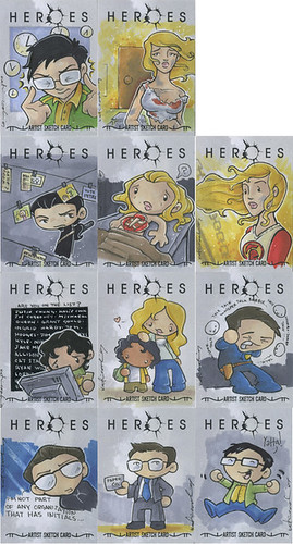 Heroes Trading Cards