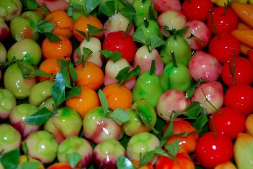 bean paste fruit