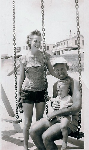 Mom & Dad - Galveston Texas 1950's