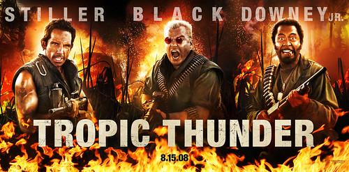 Tropic Thunder banner