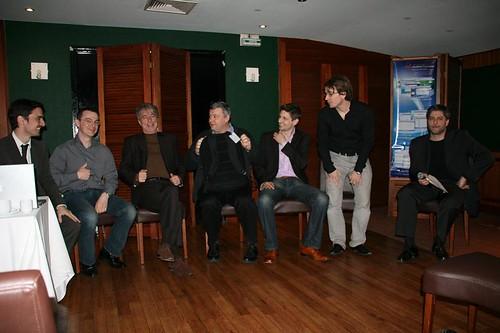 Les participants de la table ronde