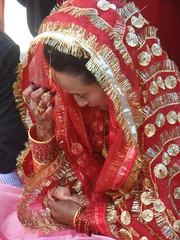 Nepali Bride (jk10976) Tags: nepal wedding red portrait bride amazing asia dress shots ktm national kathmandu soe geographic nepali blueribbonwinner shieldofexcellence anawesomeshot ultimateshots dipin amazingshots citrit jk10976 jkjk976 nepalibride