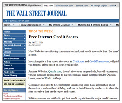 quizzle hits the pages of the wall street journal by QuizzleTown