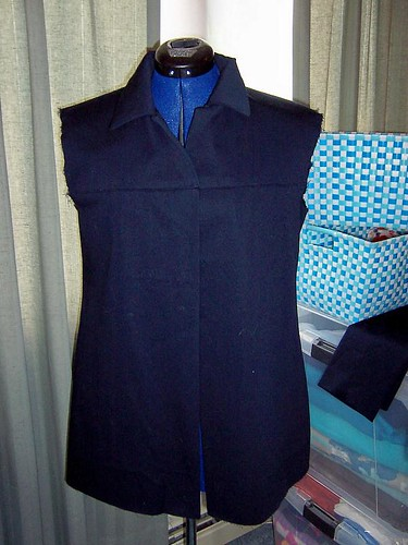 In Progress: Butterick B4463 Jacket