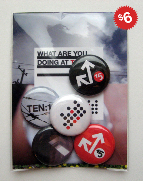 ten15am buttons for sale