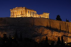 Greece - Athens - Acropolis at dusk