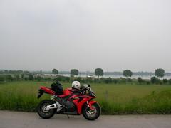 渡良瀬遊水地は広い人造湖