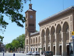 Train station in Toledo