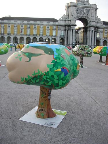 """A nossa """"Tree Parade"""""""