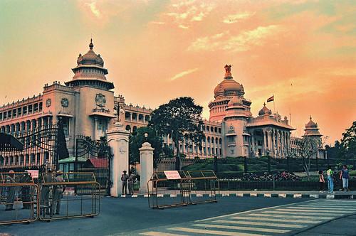 Vidhana Soudha in Bangalore, Karnataka, India