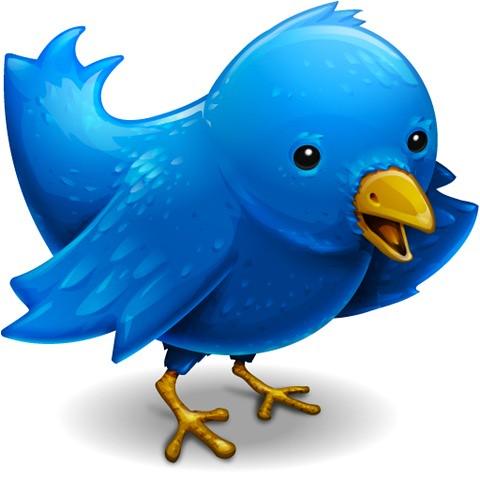 ikon twitter populer