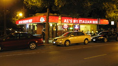 The Original Al's Italian Beef on West Taylor Street. Chicago Illinois. Tuesday, July 14th 2009.
