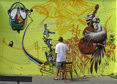 streetart (wojofoto) Tags: amsterdam ijplein graffiti streetart kosmopolite devalk wojofoto wolfgangjosten