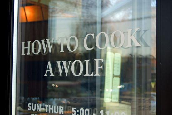 Restaurant with Attitude