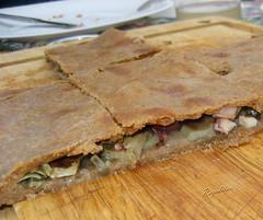 EMPANADA DE PULPO Y ALCACHOFAS (Zeditas) Tags: cocina e pulpo empanada alcachofas recetas