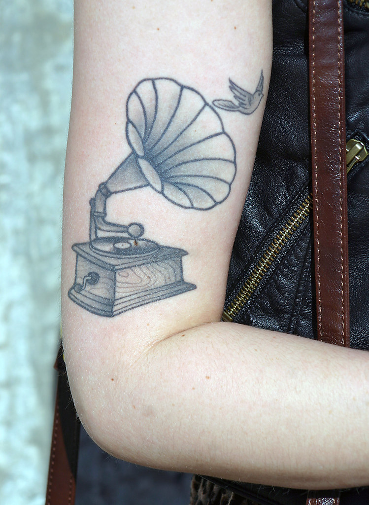 Old Style Phonograph