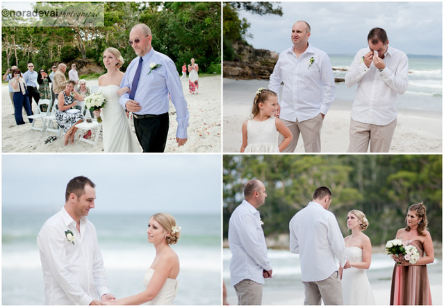 Jervis Bay Beach wedding 132