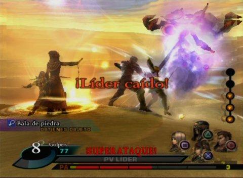 Valkyrie Profile 2 Silmeria - Batalla 2