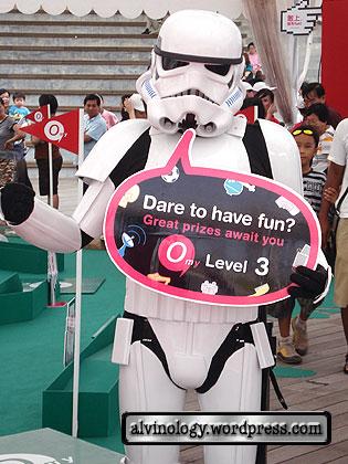 Trooper dares