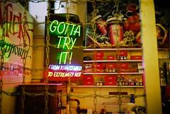 Inside Pike Place Market in the early morning (spokanekelly) Tags: seattle kodak pikeplacemarket olympusxa 400hd