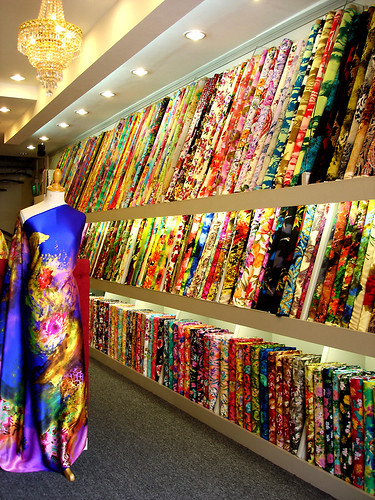 Fabric Store - Arab Street, Singapore | Flickr - Photo Sharing!
