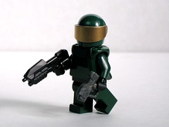 BrickArms BA-M5 and BA-M6 Prototypes (Dunechaser) Tags: lego halo minifig minifigs weapons masterchief prototypes brickarms
