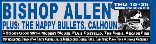 Bishop Allen Show