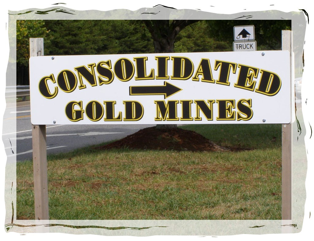 Consolidated Gold Mines in Dahlonega Georgia