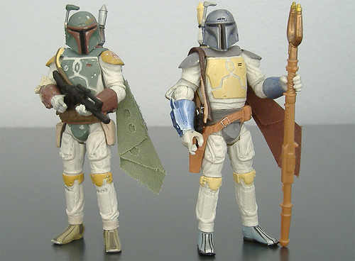 Star Wars 30th Anniversary Boba Fetts