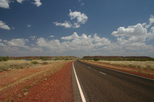 The natural entrance to Tennant Creek.